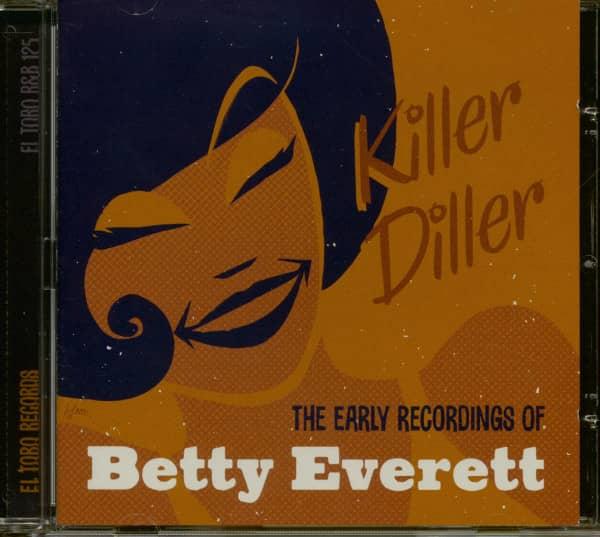 Killer Diller - The Early Recordings Of Betty Everett (CD)