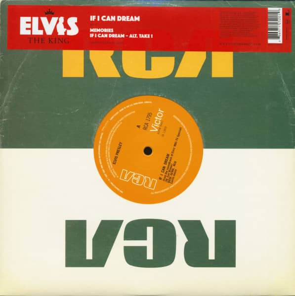 Elvis The King - 18 Of The Greatest Singles Ever Vol.12 (10inch EP, 45rpm, Ltd.)