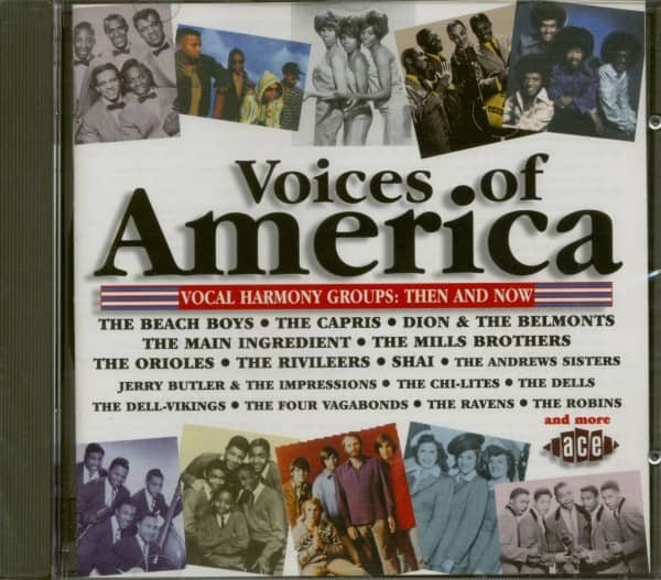 Voices Of America - Vocal Harmony Groups: Then And Now (CD)