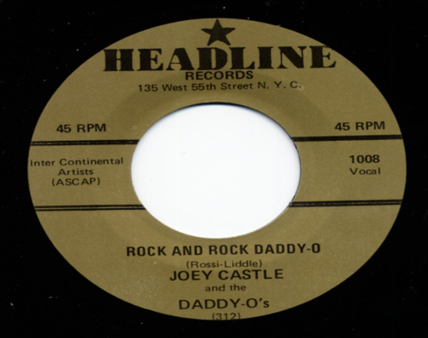 Rock & Roll Daddy-O b-w Wild Love 7inch, 45rpm