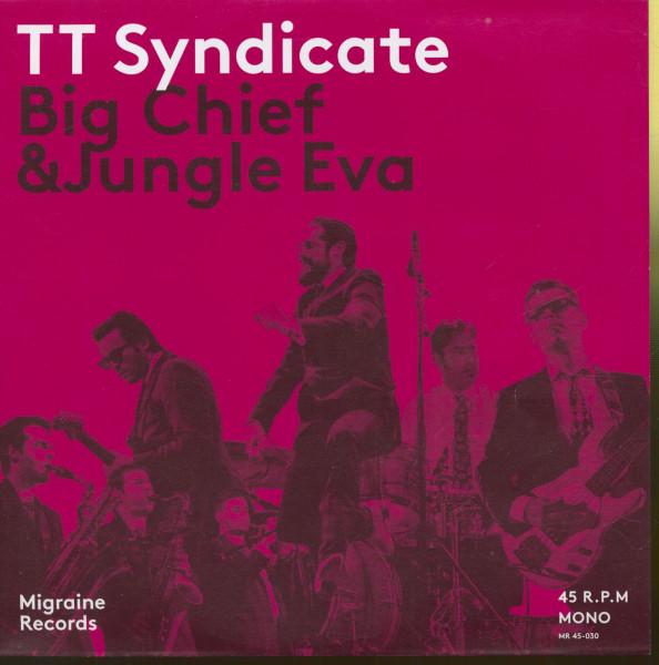 Big Chief - Jungle Eva (45rpm, 7inch, PS, Ltd.)