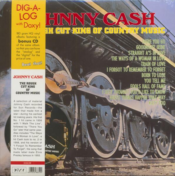 The Rough Cut King Of Country Music (LP, 180g Vinyl plus CD)