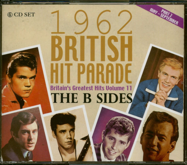 1962 British Hit Parade - Britain's Greatest Hits Vol. 11 - The B-Sides - Part 2 (4-CD)