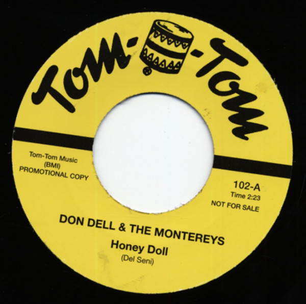 Honey Doll b-w Baby I Don't Care 7inch, 45rpm