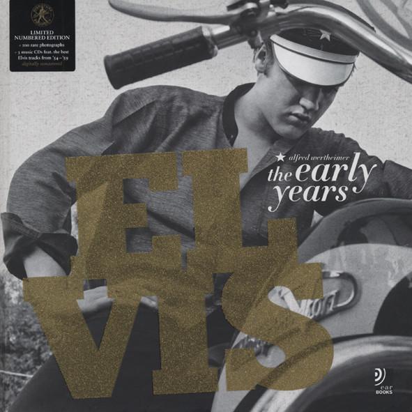 Elvis The Early Years - Fotobildband inkl. 3 Musik-CDs
