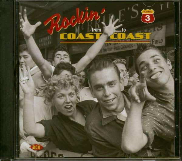 Rockin' From Coast To Coast Vol.3 (CD)