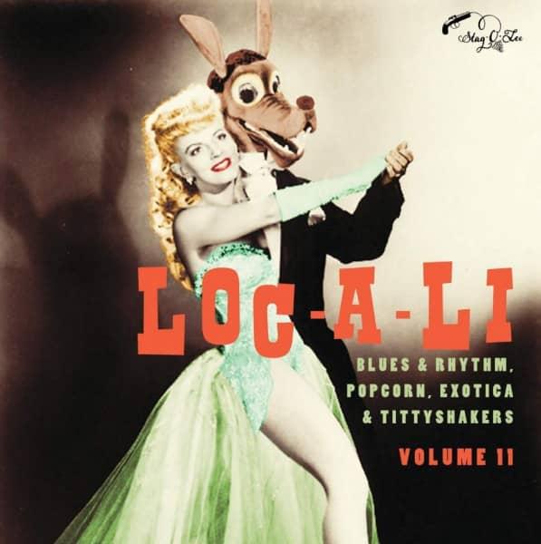 Exotic Blues & Rhythm Vol.11 - Loc-A-Li (10inch LP, Ltd.)