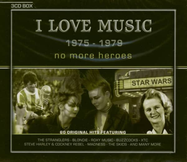 No More Heroes - I Love Music 1975-1979 (3-CD)
