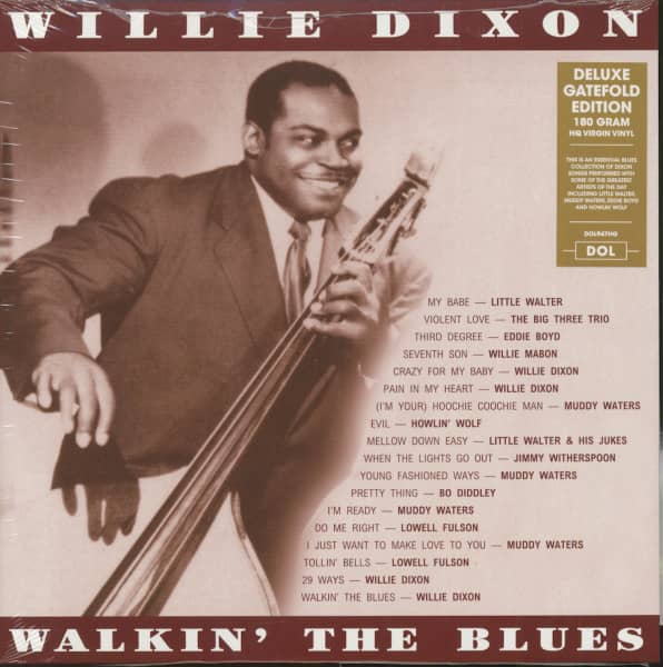 Willie Dixon - Walkin' The Blues (LP, 180g Vinyl)