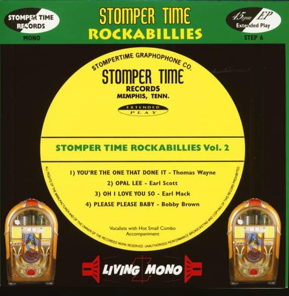 Stomper Time Rockabillies Vol.2 (7inch, 45rpm, PS)
