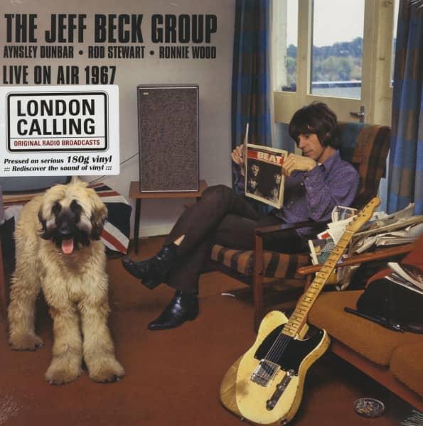 The Jeff Beck Group - Live On Air 1967 (LP, 180g Vinyl)
