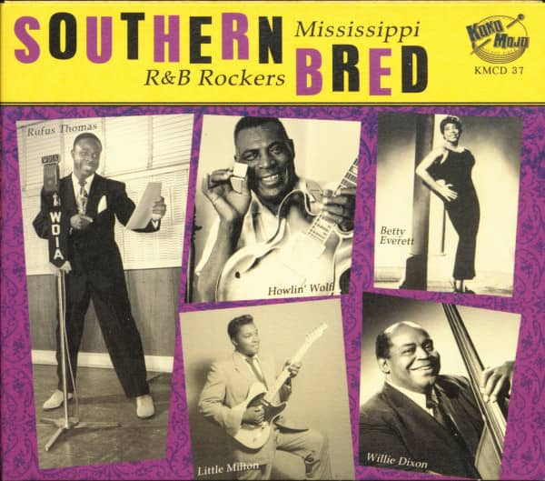 Southern Bred Vol.4 - Mississippi R&B Rockers (CD)