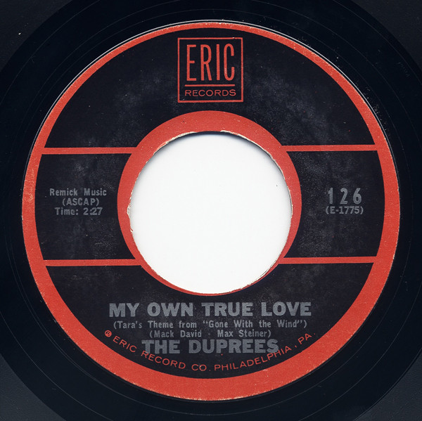 My Own True Love - Gone With The Wind 7inch, 45rpm