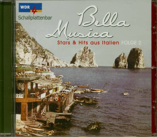 Bella Musica - Stars & Hits aus Italien Folge 2 (CD)