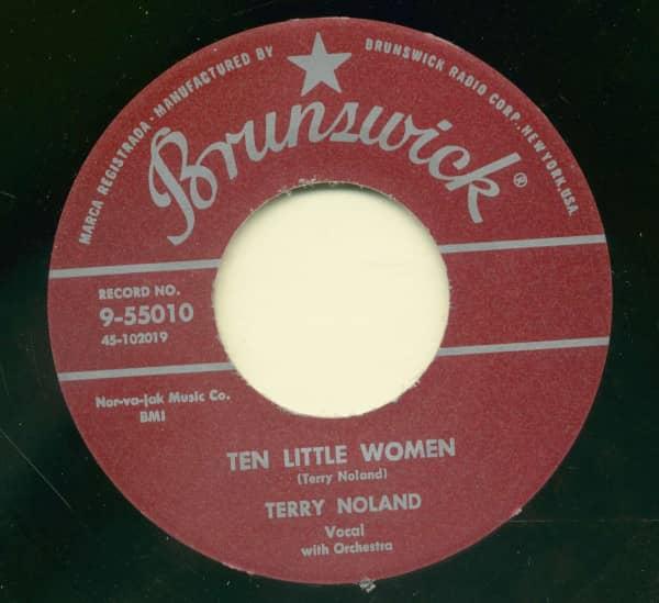 Hypnotized - Ten Little Women (7inch, 45rpm)