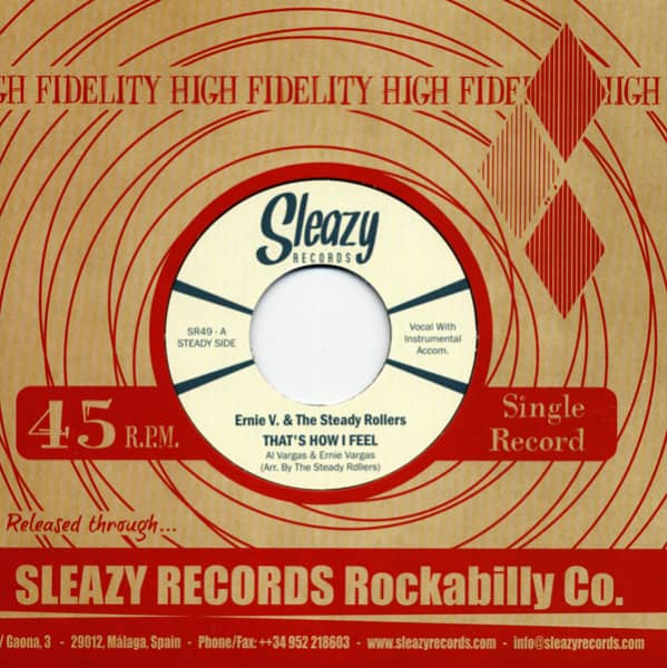 That's How I Feel - Gonna Love My Baby 7inch, 45rpm, CS