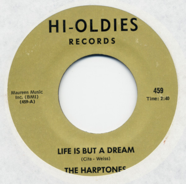 Life Is But A Dream b-w It All Depends On You 7inch, 45rpm