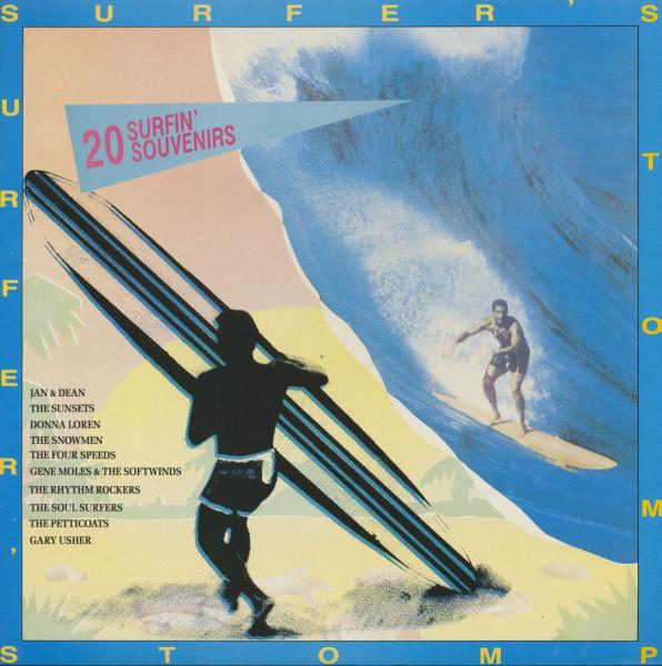 Surfer's Stomp - 20 Surfin' Souvenirs (LP)