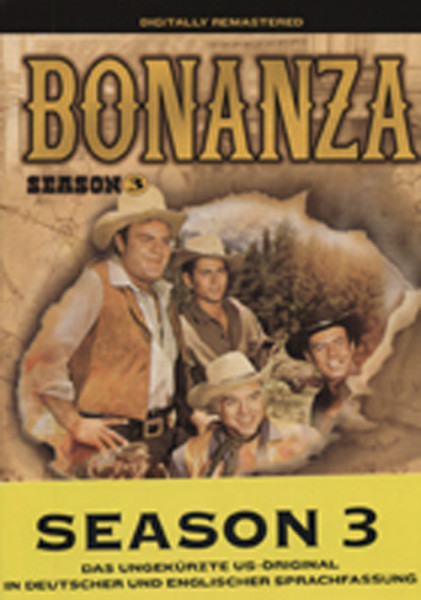 Bonanza - Staffel - Season 3 (8-DVD)(2)
