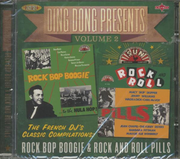 Ding Dong Presents Vol.2: Rock Bop Boogie - Rock & Roll Pills (2-CD)