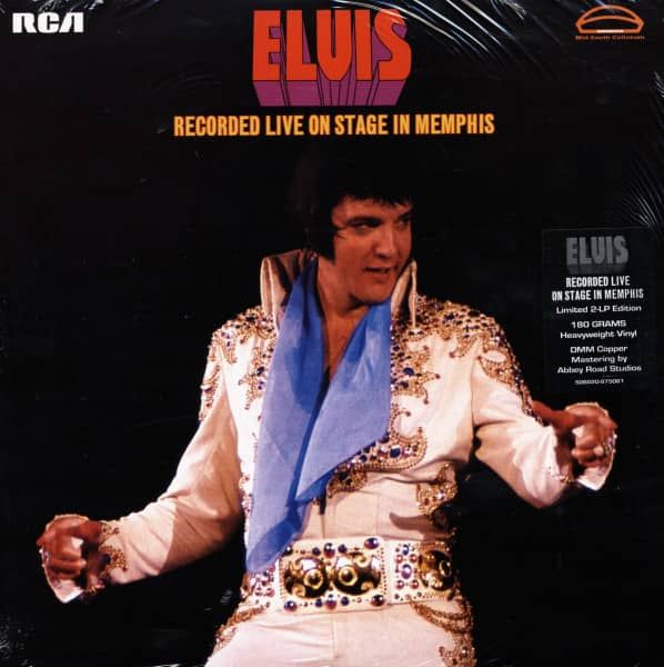 Recorded Live On Stage In Memphis (2x180g Vinyl) Limited Edition