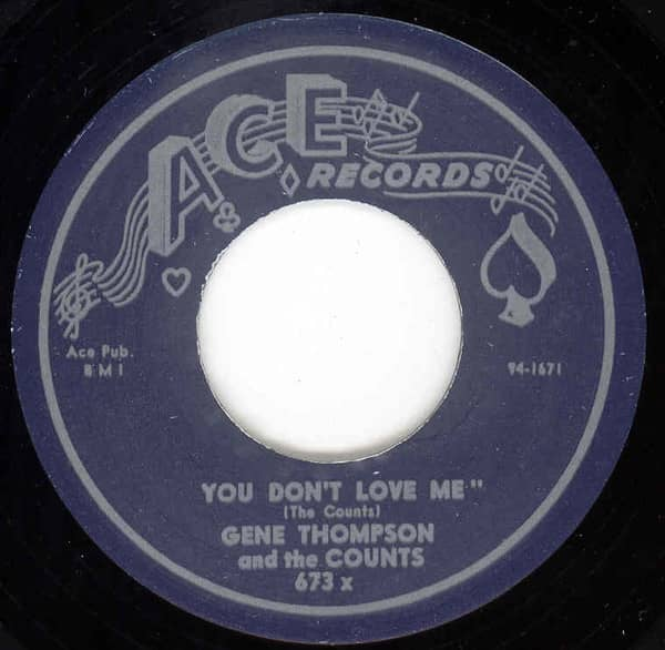 You Don't Love Me - Won't You Let Me Know 7inch, 45rpm