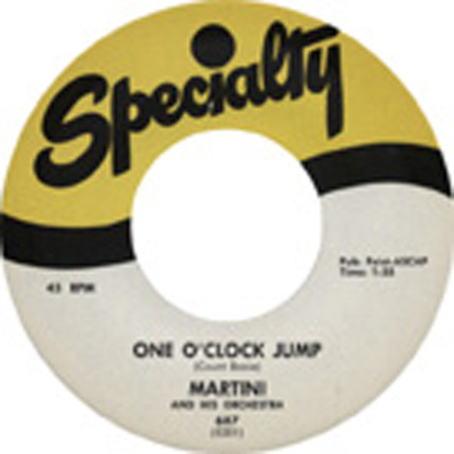 One O'Clock Jump - String Of Pearls 7inch, 45rpm