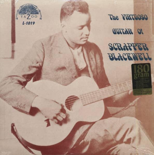 The Virtuoso Guitar Of Scrapper Blackwell (LP, 180g Vinyl)