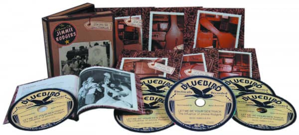 The Influence of Jimmie Rodgers - Various - Let Me Be Your Sidetrack (6-CD Deluxe Box Set)
