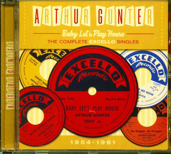 Baby Let's Play House – The Complete Excello Singles 1954-1961 (CD)