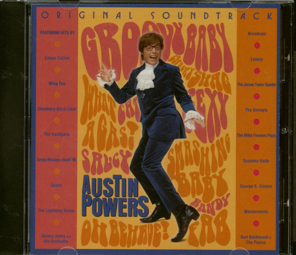 Austin Powers - Soundtrack (CD)