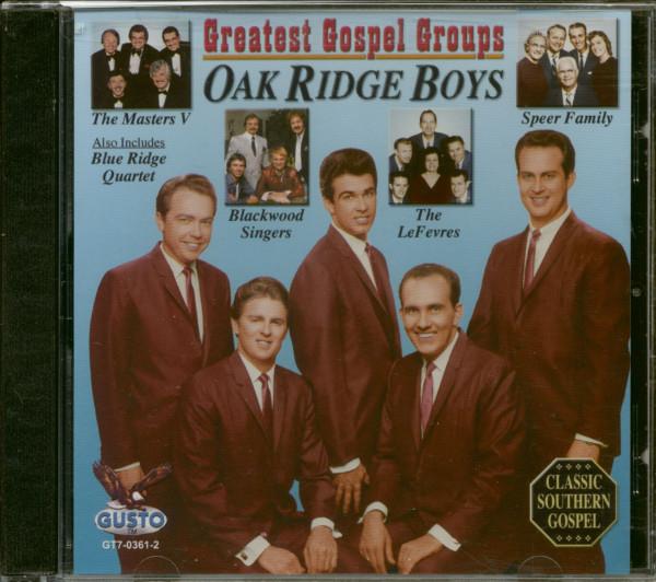 Greatest Gospel Groups (CD)