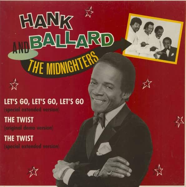 Hank Ballard & The Midnighters (EP, 12inch, 45rpm, Maxi)