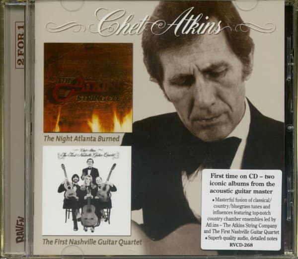 The Night Atlanta Burned - The First Nashville (CD)