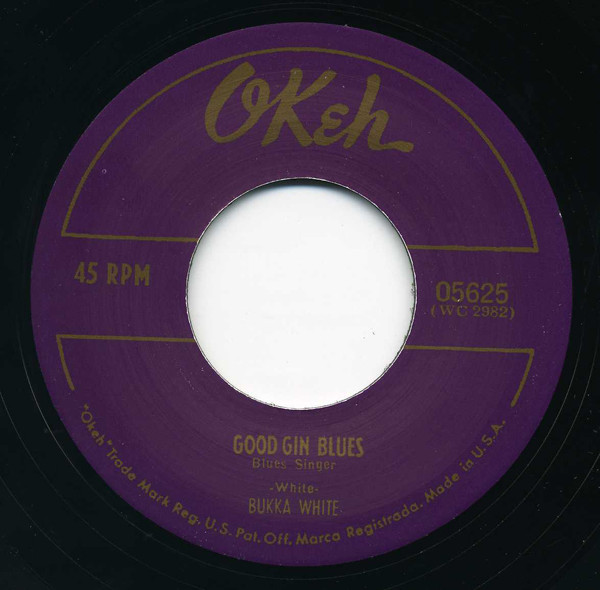 Good Gin Blues - Bukka's Jitterbug Swing 7inch, 45rpm