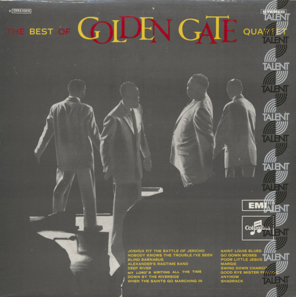 The Best Of Golden Gate Quartet (LP)