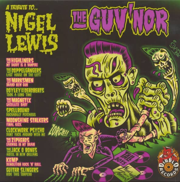 A Tribute To Nigel Lewis - 'The Guv'nor' (LP, Paisley Colored Vinyl)