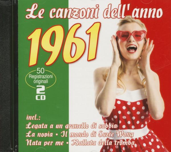 Le canzoni dell'anno 1961 (2-CD)
