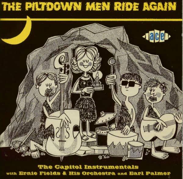 The Piltdown Men Ride Again (CD)