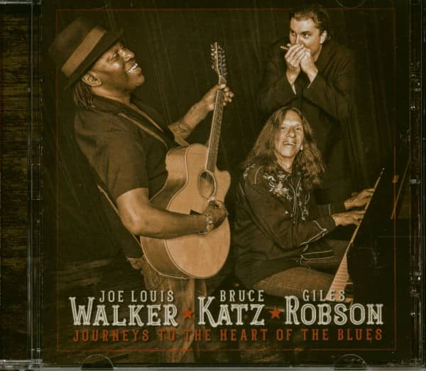 Journeys To The Heart Of The Blues (CD)