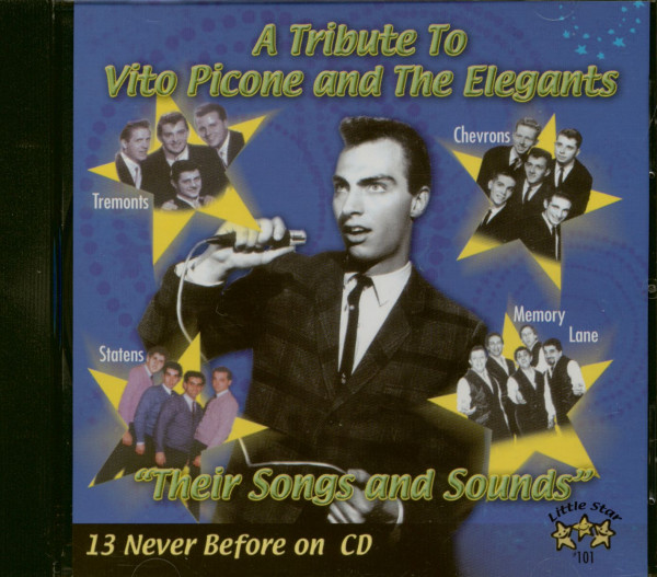 A Tribute To Vito Picone And The Elegants (CD)
