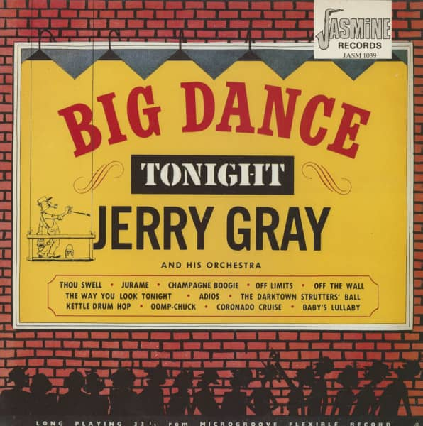 Big Dance Tonight With Jerry Gray (LP)