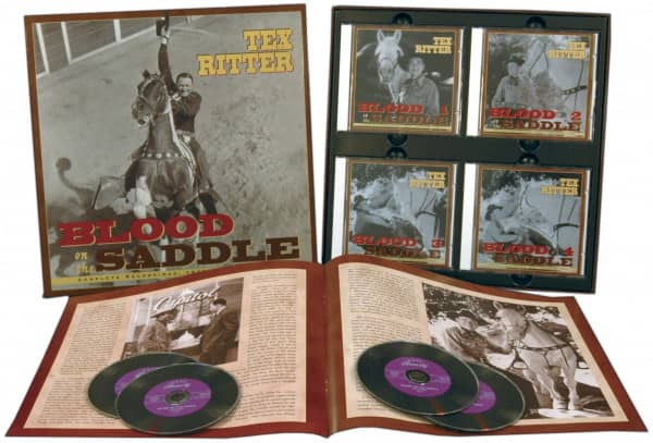 Blood On The Saddle (4-CD Deluxe Box Set)