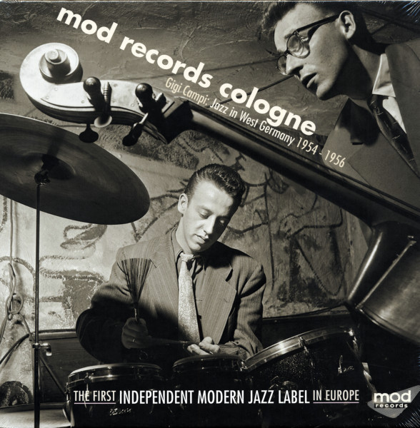 Mod Records Cologne - Jazz In West Germany 1954-56 (5x25cm LP - 6x-45rpm - 4-CD) LP-sized Box