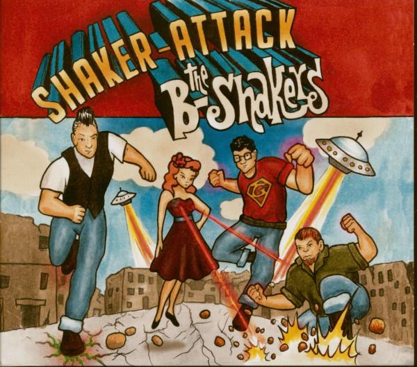 Shaker Attack (CD)