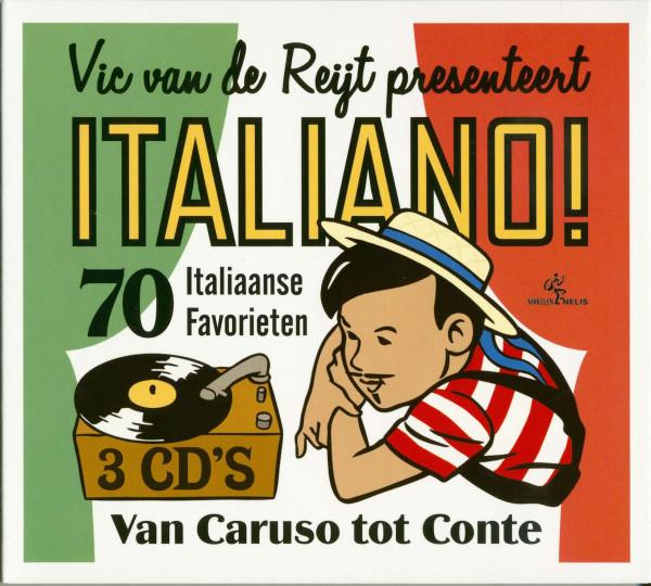 Vic Van De Reijt presenteert Italiano! (3-CD)