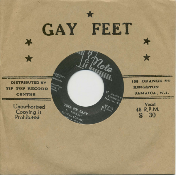 Tell Me Baby - That's Life (7inch, 45rpm, BC, CS)