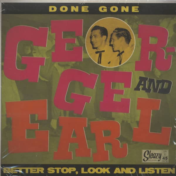 Done Gone - Better Stop, Look And Listen (7inch, 45rpm, PS)