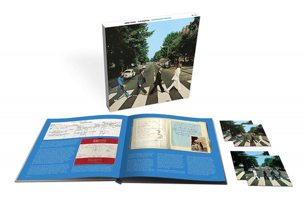 Abbey Road - 50th Anniversary (3-CD, Bluray, Book)