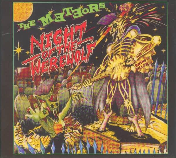 Night Of The Werewolf (CD)